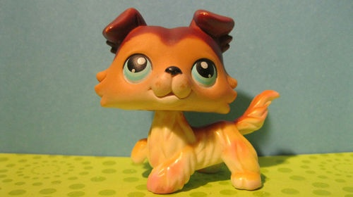 lps brown dog littlest - photo #34