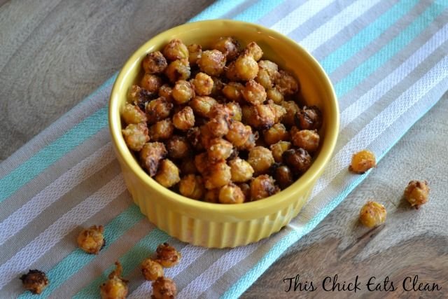 Toss 'Em Back Roasted Chickpea Poppers | RECIPES TO TRY. | Pinterest