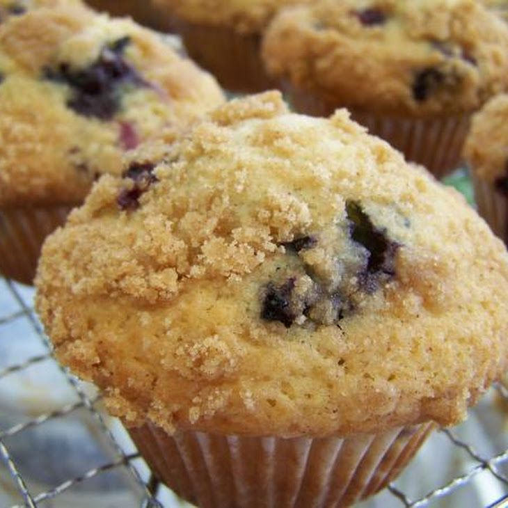 Blueberry Crumb Muffins | Blueberry Muffins | Pinterest