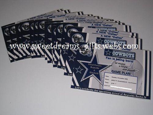dallas cowboy baby shower invitations need invitations give us a