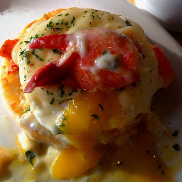 Seafood Eggs Benedict Recipe — Dishmaps
