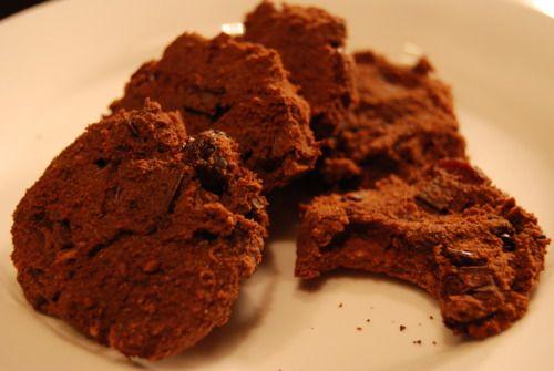 Double Chocolate Cherry Cookies | Paleo/Primal Treats | Pinterest