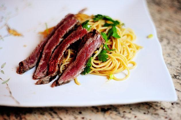 How To Make Beef Noodle Salad Bowls | SIDES | Pinterest