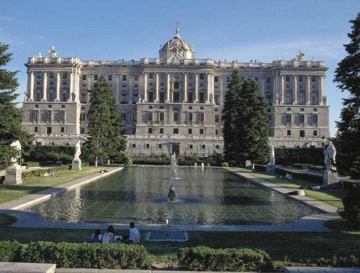 Royal Palace, Madrid  Castles  Pinterest
