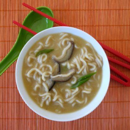 Healthier Ramen Noodle Soup | Comfort Soups | Pinterest