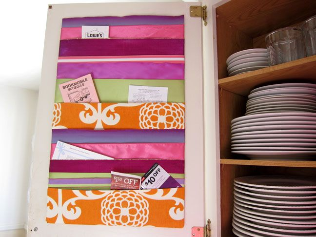 Memo board made with ribbon and duct tape!