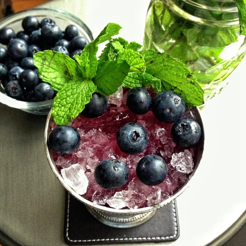 ... 12 Blueberries 10 Mint Leaves 2 Mint Sprigs Blueberries (garnish