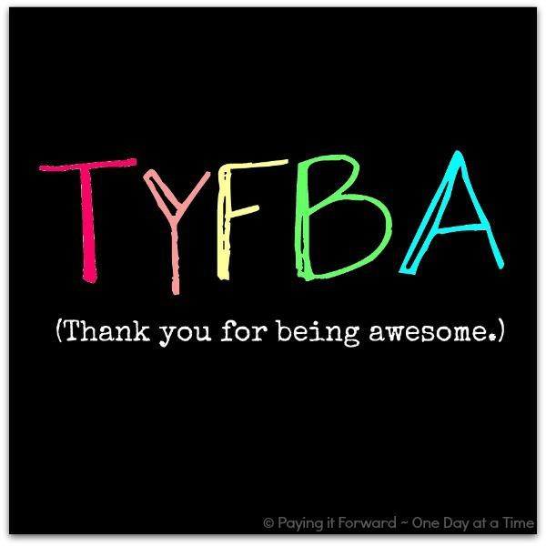 THANK YOU FOR HELPING ... Quotes About Me Being Awesome
