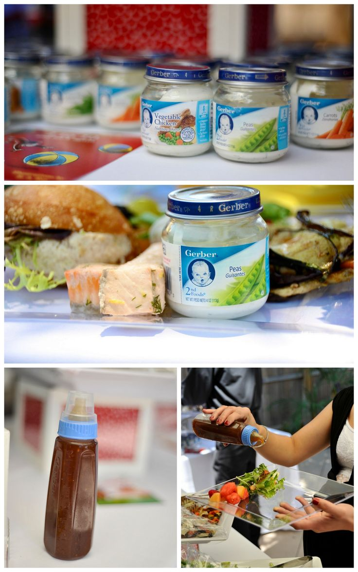 clever serve dressings sauces in baby food jars and or bottles