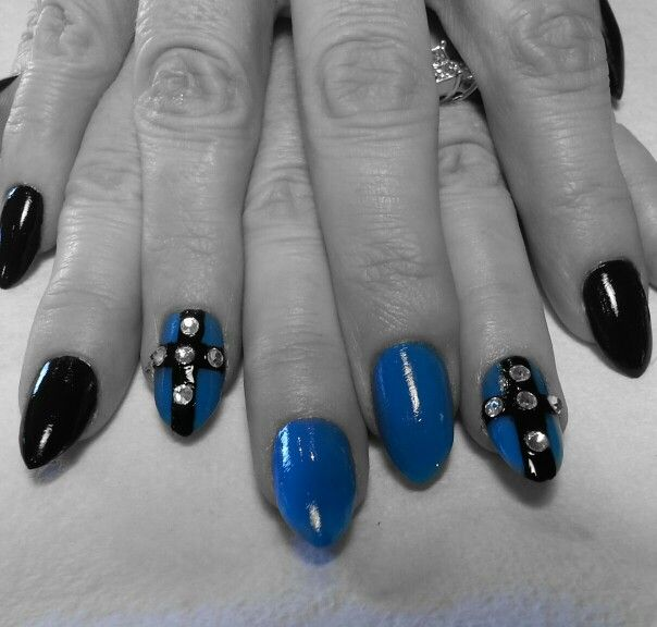 Stiletto nail art | Gel Nail Art | Pinterest