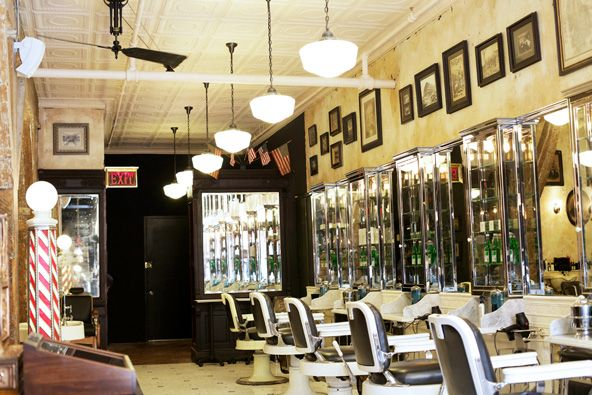 Barber Shop Brooklyn : Tommy Guns - Brooklyn Hair Salons Pinterest