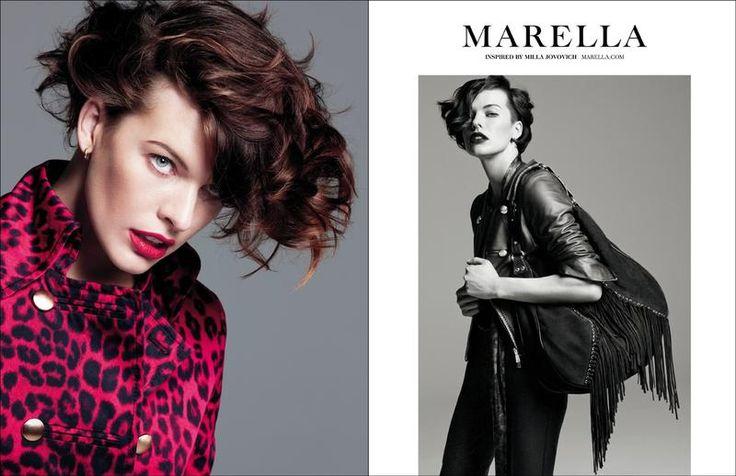 Milla Jovovich - Marella - Marella F/W 2012 -2013