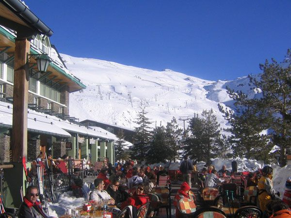 Sierra nevada ski resort spain favorite places spaces - Hotel lodge sierra nevada ...