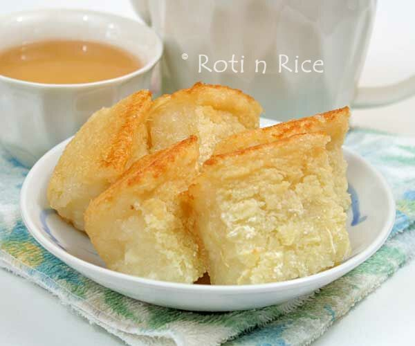 Tapioca Cake (Kuih Bingka) and Awards - Roti n Rice