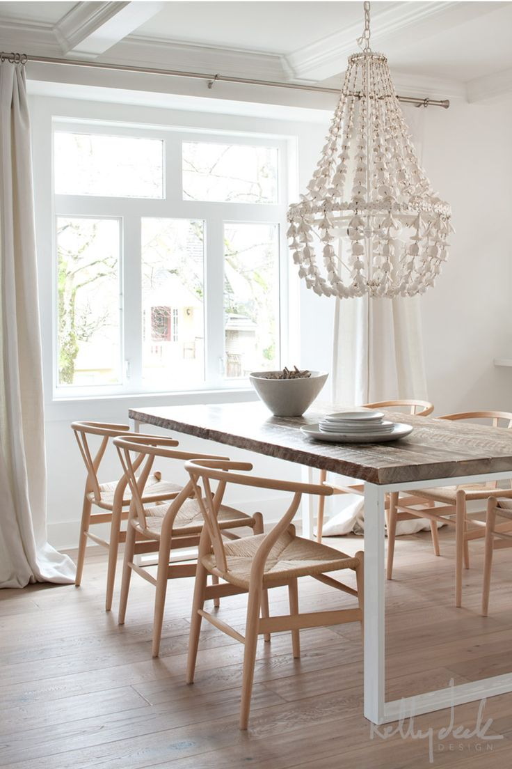Barn wood table top white metal base home ideas pinterest for Wood kitchen table top