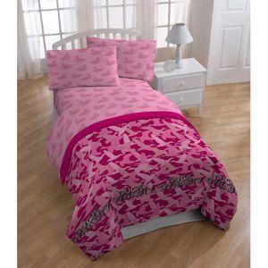Pink Duck Dynasty Bedding