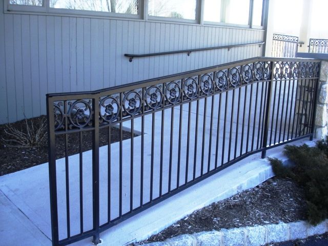 Clean The Decorative Wrought Iron Railing : Clean The Decorative Wrought Iron Railing : Decorative Wrought Iron ...