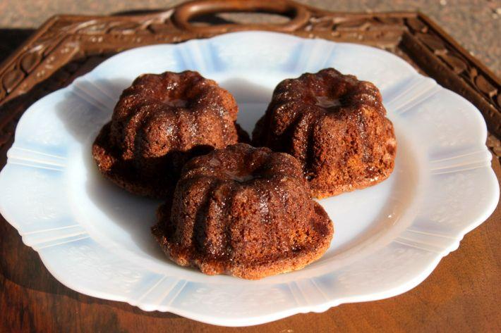 Sticky, Boozy Chocolate Plum Pudding Cake