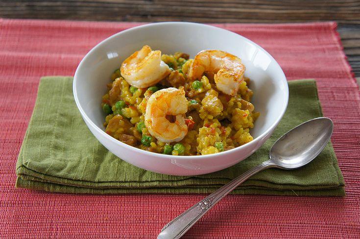 Chicken and Shrimp Paella   Eat around the Globe   Pinterest