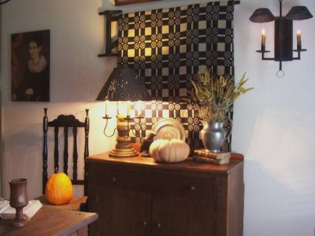 Fall Decorating | Colonial Style Decorating | Pinterest