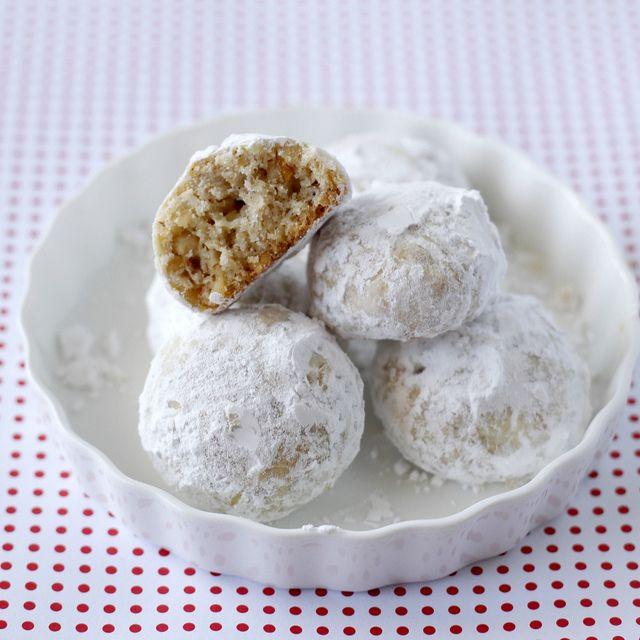 Gluten-Free Walnut Snowballs - Cup 4 Cup (C4C) Gluten-Free Flour was ...