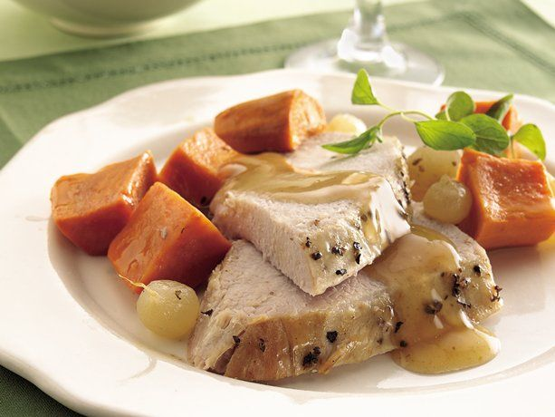 Slow Cooker Turkey Breast with Sweet Potatoes