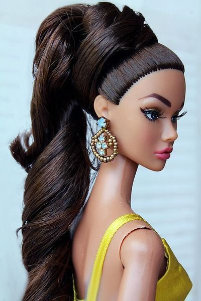 Hair Style Doll : Barbie Doll Hair inspired styles Pinterest