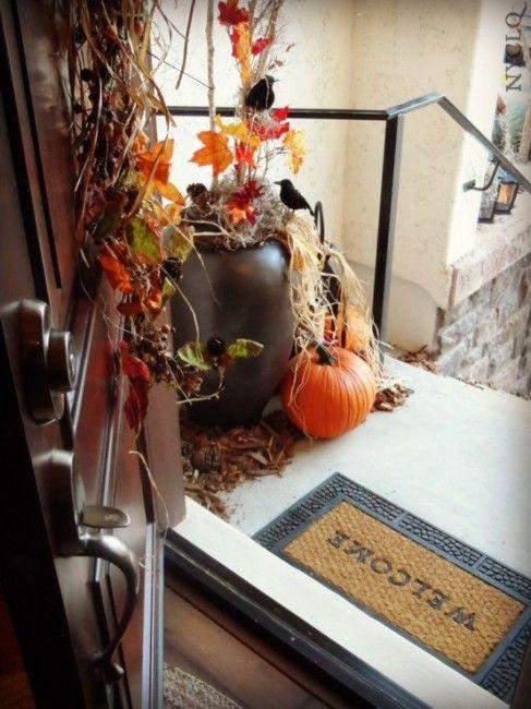 ... Rustic Halloween Decor Ideas | Interior Design, House Designs | Pi: pinterest.com/pin/245798092136101775