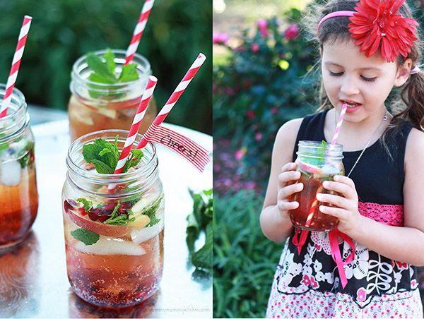 Pomegranate sparklers | Recipes--Beverages | Pinterest