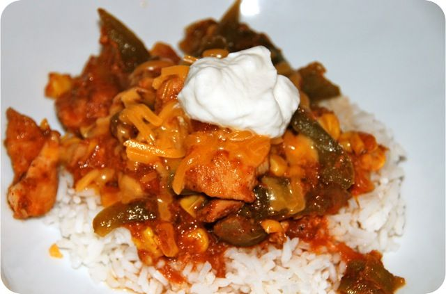 Slow Cooker Tex-Mex Chicken | Yummy Foods | Pinterest