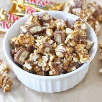 twix caramel popcorn   It's the most wonderful time of the year.   Pi ...
