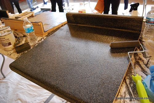 Countertop Makeover : Eco Friendly Laminate Countertop Makeover. Have you ditched the ...