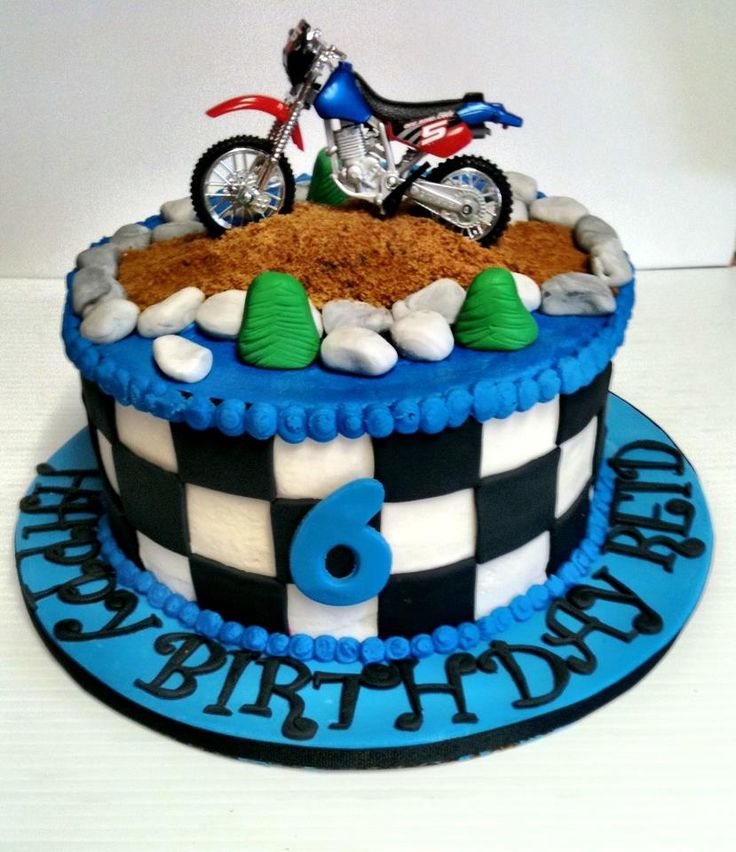 dirt bike cakes pictures