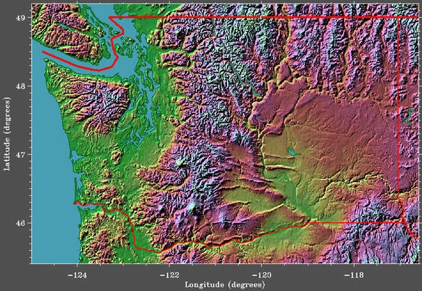 Wa Elevations  Washington The State  Pinterest