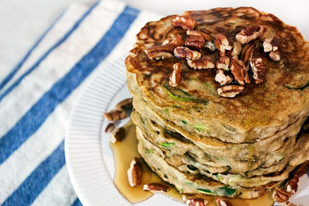 zucchini bread pancakes they ll never know there s a half cup of ...