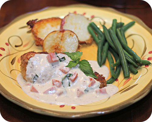 Chicken in Basil Cream | Main Course | Pinterest