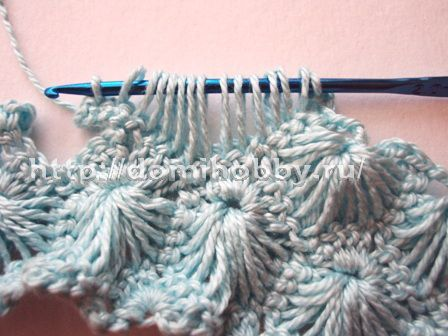 Crochet Stitches Shell Instructions : shell stitch crochet tutorial crochet Pinterest