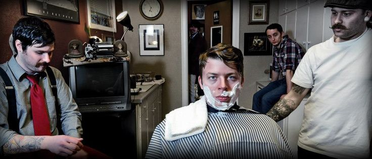Barber Brothers : derosso brothers tattoo and barber shop Barbering Pinterest