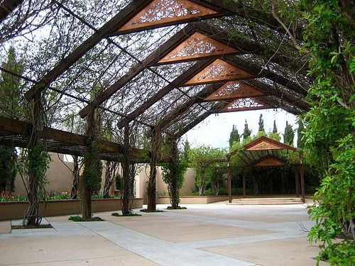 Gorgeous setting for weddings at the abq biopark botanical gardens