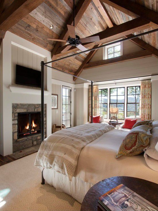 Rustic Master Bedroom : Bedroom ideas : Pinterest