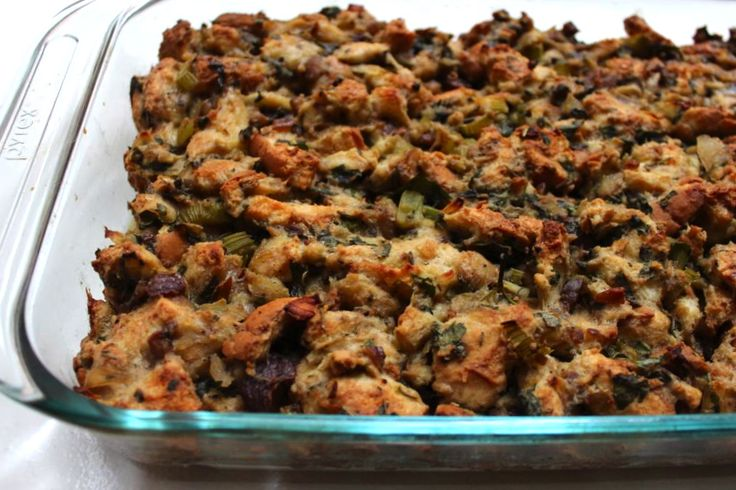 Milk & Mode: Simple Chestnut Stuffing | My Recipes | Pinterest