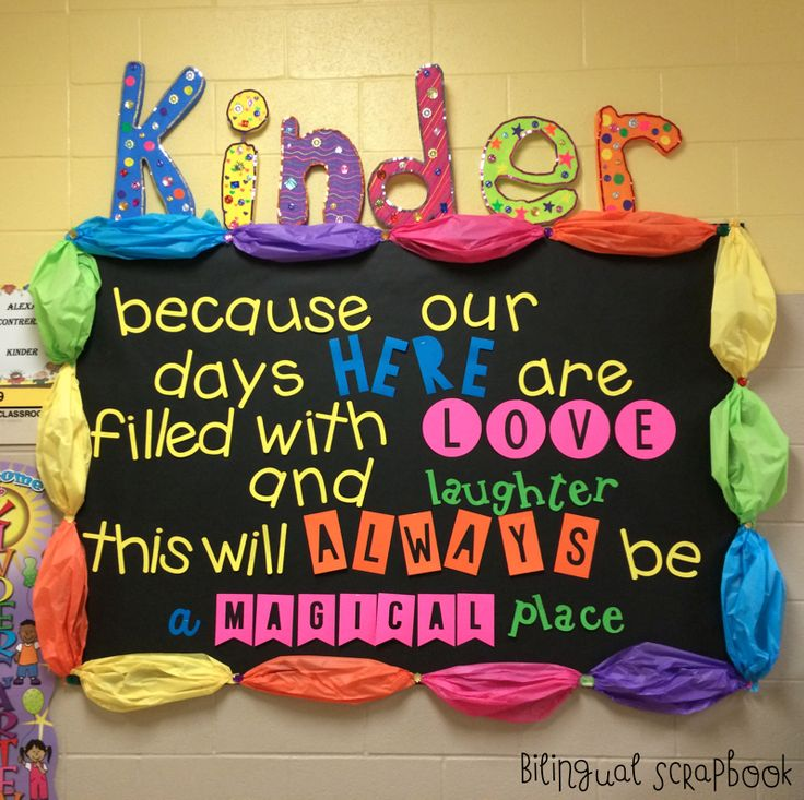 inspirational bulletin board kinderland collaborative