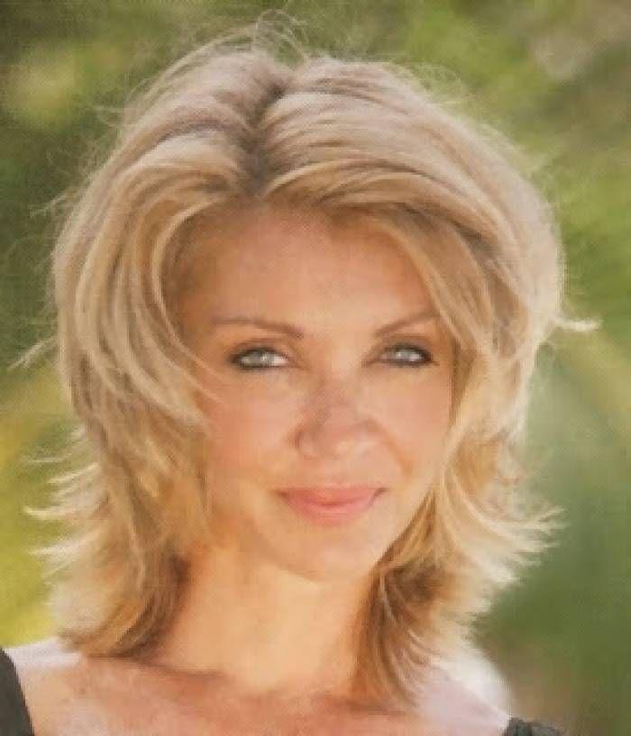 Medium Hairstyles Women Over 50 | hair & makeup | Pinterest