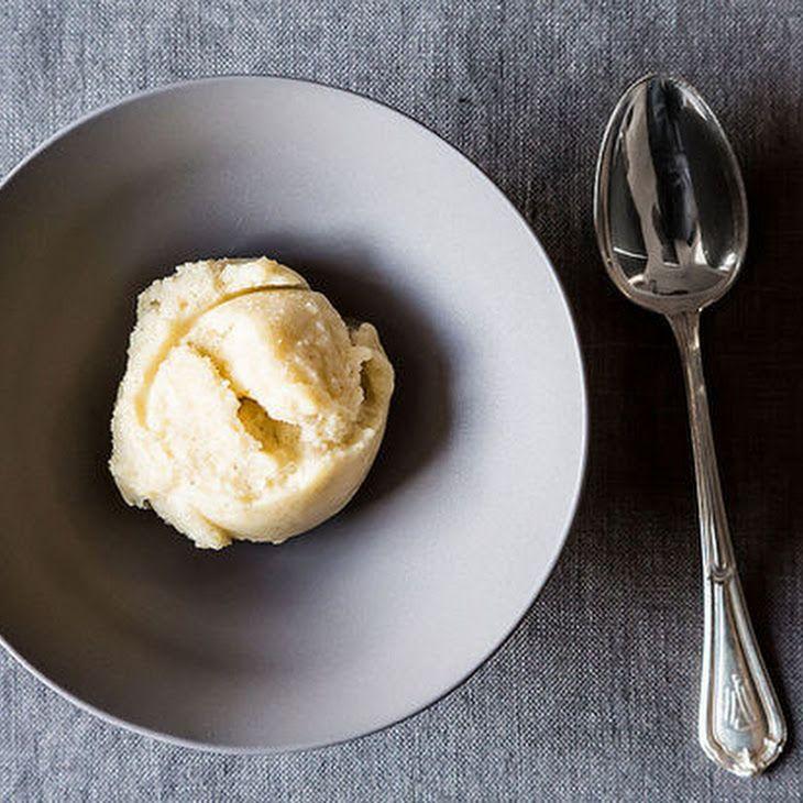 Pear Vanilla Sorbet Recipe | PEAR Season (picking pears) | Pinterest