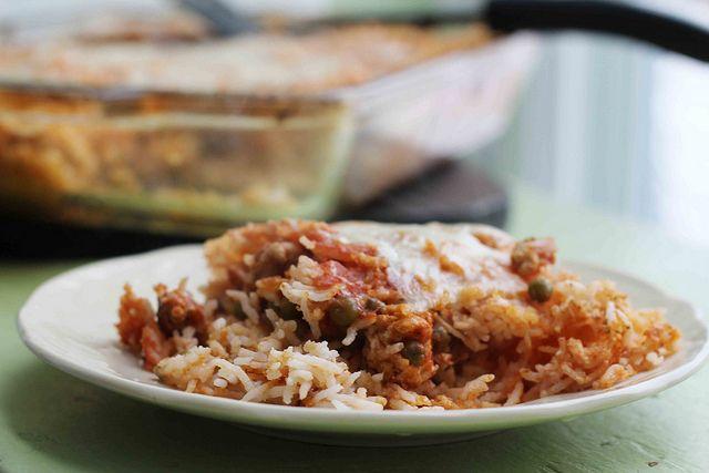 Sicilian Rice Ball Casserole | Tasty Noms | Pinterest