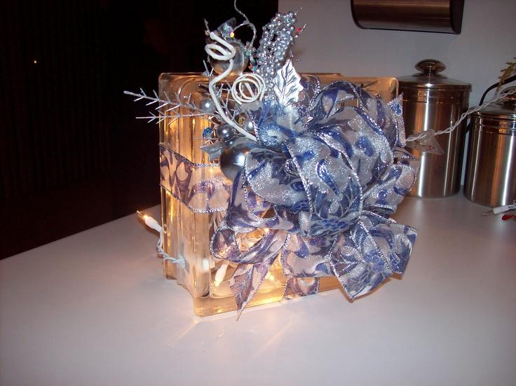 Decorative glass block light glass block decorations - Glass block decoration ideas ...