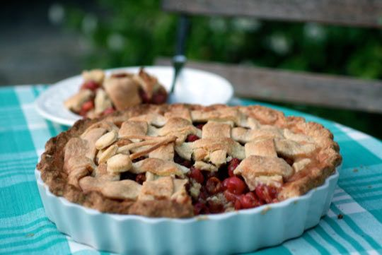 Back to Basics Cherry Pie - The Kitchn The recipe looks very promising