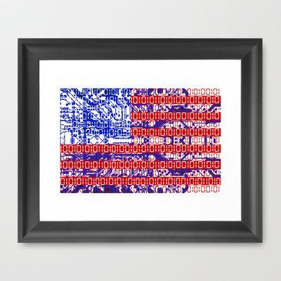 digital american flag