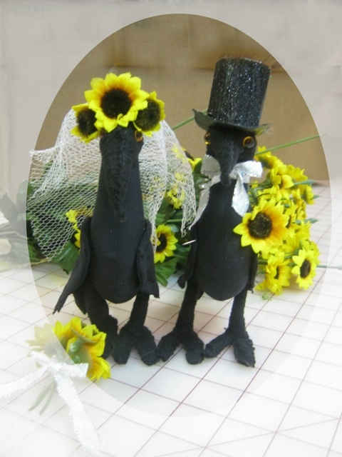 Wedding crows for Wendy~!