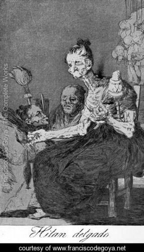 by Francisco José de Goya Y Lucientes of Spain (1746-1828) http://virtual-horror.blogspot.com/